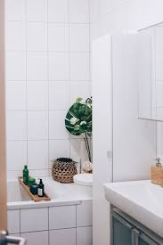Kleines Bad Ohne Fenster Dekorieren Kreative Wandgestaltung