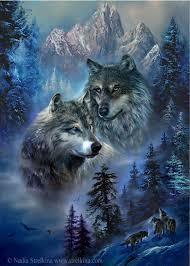 Main wolves (с изображениями) | Серые волки, Рисунки ...