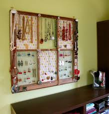 Earring Display Stand Diy Awesome Ideas of DIY Wall Jewelry Organizers 75