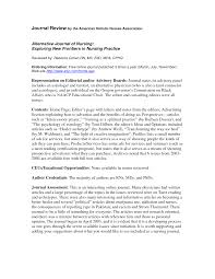 Example Of Journal Article Review In Apa Format Apa Format For
