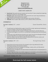 Executive Assistant Resume Strong Administrative Assistant Resume Therpgmovie 16