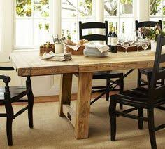 earth friendly benchwright reclaimed wood extending dining table wax pine finish style