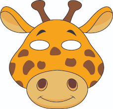 Aren't these 6 creatures just adorable? Jungle Masks
