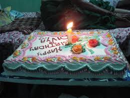 1st Birthday Cake2 At Grand Parents Home Divyashree Lakshmi