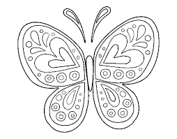 Download Coloring Pages. Butterfly Coloring Pages: Butterfly ...