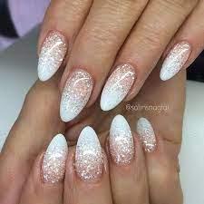 white glitter nails you will love