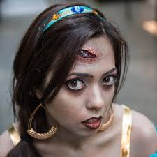 contour and highlight zombie princess jasmine makeup popsugar beauty photo 8
