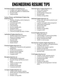 Resume Skills And Qualifications Examples