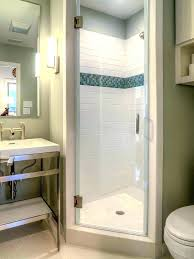 lovely corner showers for small bathrooms small shower kits shower replacement kits shower stall kits small
