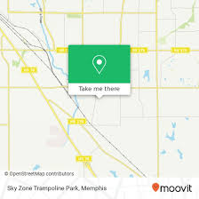 Sky Zone In Memphis How To Get To Sky Zone Trampoline Park In Memphis By Bus