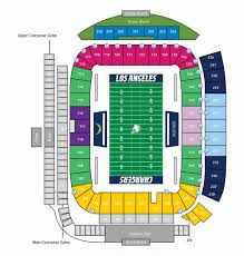 Chargers Stadium Seating Chart Stubhub Center Seating Chart Seating Chart
