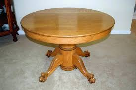 claw foot dining table claw foot dining table oak antique claw foot dining table with eight