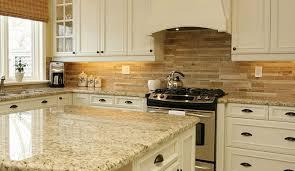 Granite Countertops And Tile Backsplash Ideas Backsplash Decor