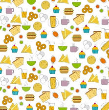 Indian Food Graphic Pattern Backgrounds Wallpapers Valued