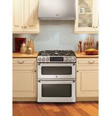 ge café™ series 30 slide in front control gas double oven product image product image product image product image