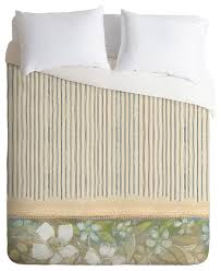 deny designs cori dantini blue and white stripes duvet cover contemporary duvet covers and duvet sets by deny designs
