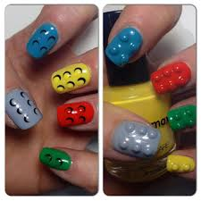 2 ways 4 LEGO NAILS   mikeligna   nail art inspiration   Pinterest ...