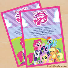 Small Picture The 25 best My little pony invitations ideas on Pinterest