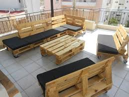 skid furniture ideas. view in gallery outdoor patio furniture set crafted from pallets skid ideas i