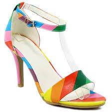 Resultado de imagen de sandalias de colores