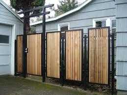exterior trendy ideas of outdoor wood gates designs extraordinary modern design wooden gate paint