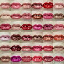 Lipsense Colors Chart All The Lipsense Colors In 2019 Lipsense Lip Colors