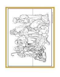 Small Picture Printable Nativity coloring page Free PDF download at http