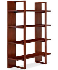 Home To Office Solutions Coat Rack Battery Park Home Office Open Bookcase Furniture Macy's 23