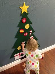 Children's Felt Christmas Tree - Great holiday gift for little ones by  jamielizabethart