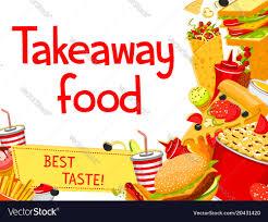 Food Design Poster Fast Food Takeaway Menu Poster Design