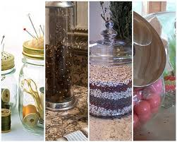 What To Put In Glass Jars For Decoration Organizing And Decorating With Glass Jars Blissfully Domestic 16