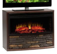 Amish Built Electric Fireplace U2014 JBURGH Homes  Luxurious Amish Amish Electric Fireplace