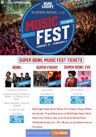 Bud Light Super Bowl Music Fest 2019 Lineup Discount Bud Light Super Bowl Music Fest 2019 Tickets