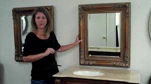 how to choose the perfect sized vanity mirror to go with your bath vanity you
