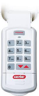 genie garage door opener keypad.  Keypad Genie Garage Door Opener Accessory Wireless Keypad Inside Openers