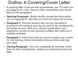 Cover Letter Opening Sentence Experience Resumes