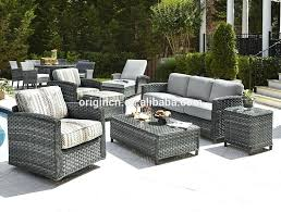 garden rattan furniture exotic style gorgeous home casual outdoor lounge sofa set garden rattan furniture rattan