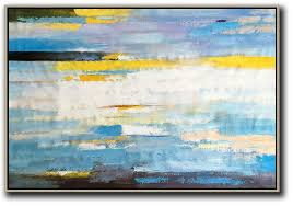 large abstract art horizontal abstract landscape art extra large wall art white yellow blue purple black etc on extra large wall art teal with large abstract art horizontal abstract landscape art extra large