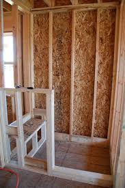 DIY Walk-In Shower: Step 1  Rough Framing