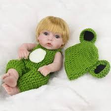 Online Shop 10 inch 25cm Full <b>Silicone Reborn Baby</b> Dolls ...