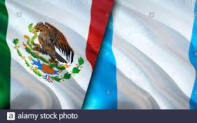 Mexico Guatemala Flag Stockfotos und ...