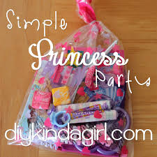 diy kinda girl princess party