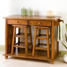 Impressive Portable Kitchen Island With Stools Stowaway Would Be Great For Inside Beautiful Ideas