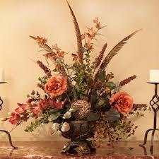Small Picture silk flower arrangements for home Designer Silk Floral