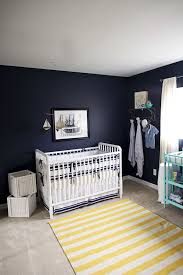 navy nursery a nautical nursery in navy blue with yellow accents by laura marchbanks photography navy
