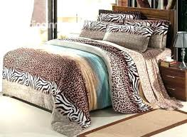 33 attractive ideas king size leopard print comforter set cheetah bed animal sets for snow