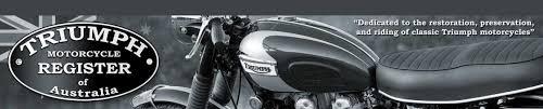 triumph motorcycle register of australia