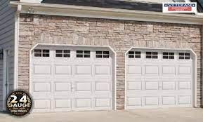 how much does garage door weigh