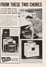 History Of Kitchen Appliances Apron History Kitchen Appliance Ads