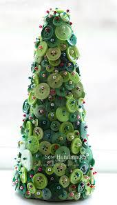 children's christmas craft - button tree! http://sew-handmade.blogspot
